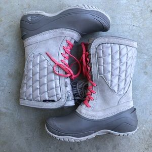 The North Face Shoes - The North Face Thermoball Utility Boots Gray